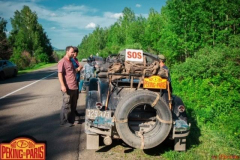 Towing-on-the-road-SOS