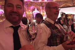 Bas and Paul with their Trophies