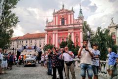 Day 30 - Arrival in Lubjljana, Slovenia on 12 July