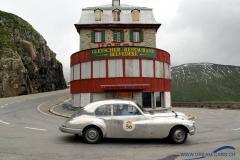 Furkapass - Gletscher Restaurant Belvedere