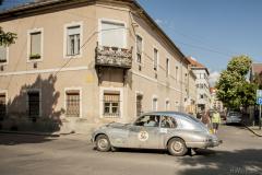 Driving through the town of Gyongyos, Hungary on 9 July - photo Monika Hinz, www.himopic.blogspot