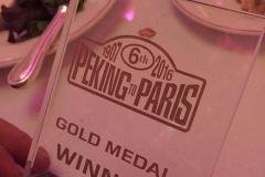 Paul and Bas, Peking to Paris Plaque