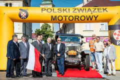 Rzeszow, Poland - Old Town Square - send off from the Mayor