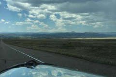 Day 13, Amarillo to Sante Fe, New Mexico - Cadillacs - Scenery from Bristol