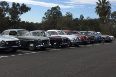 Bristol line up at Chafey House or Rio Vista, Mildura