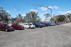 Bristols lined up at the Psyche Pump, Mildura