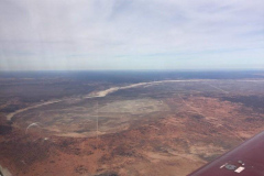 Lake Mungo from the air