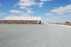 Woolshed at Lake Mungo