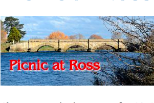 Picnic at Ross Sunday, 28 April 2019